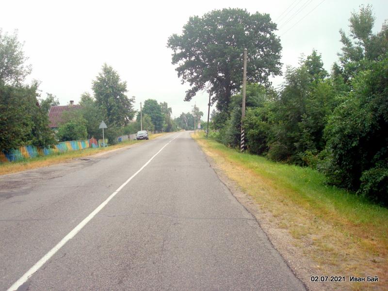 Дорога через Доброславку