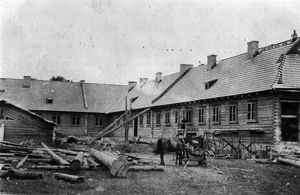 Строительство школы им.маршалка Ю.Пилсудского