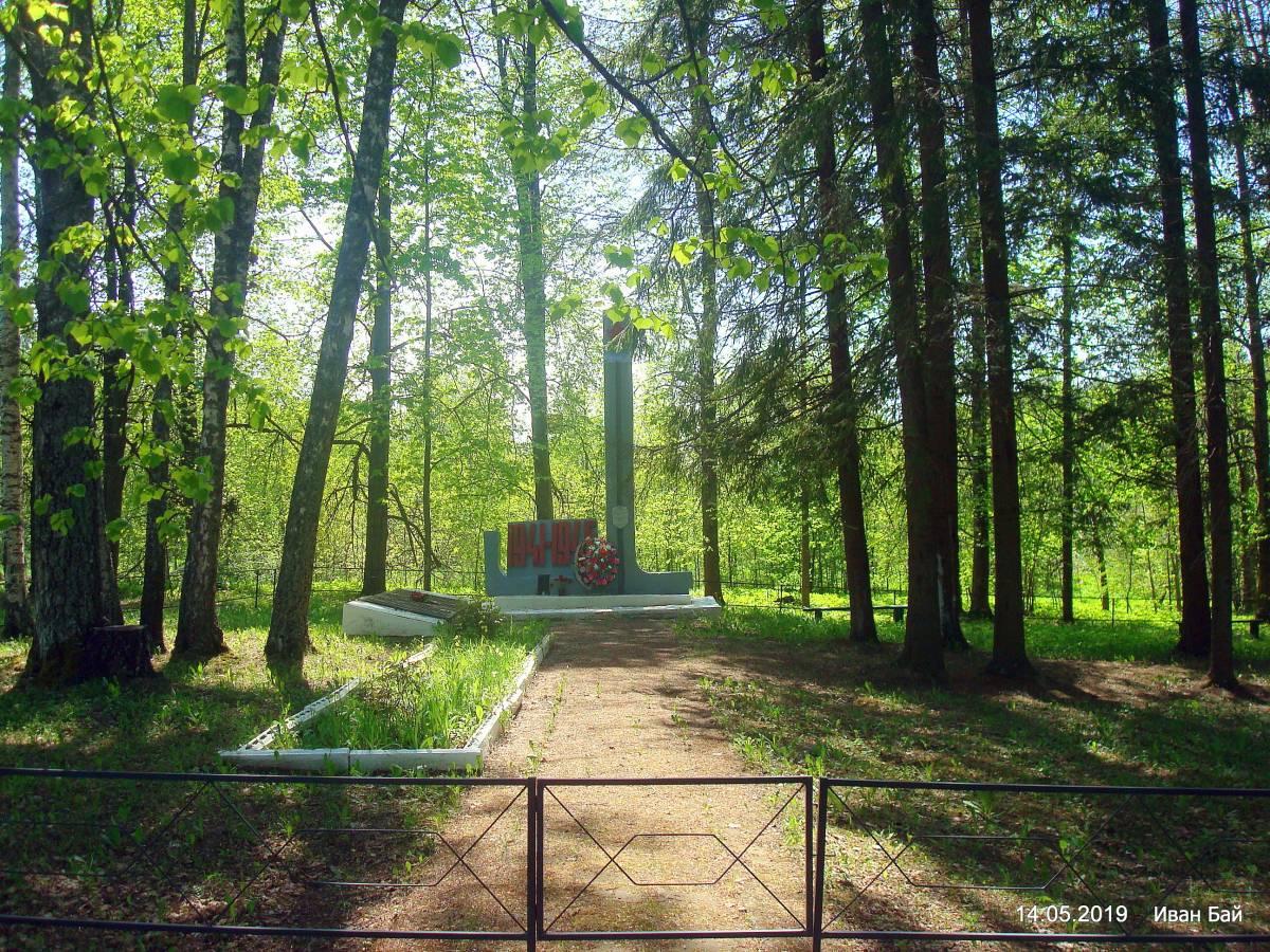 Братская могила в д.Кончане