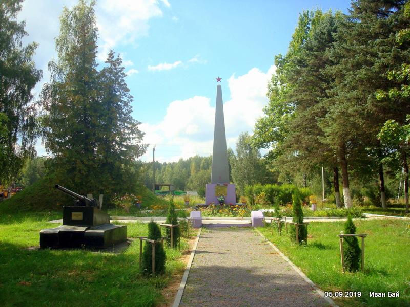 Памятник погибшим в д. Нивки