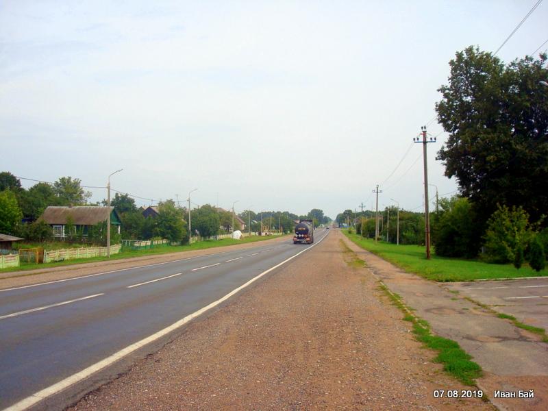 Дорога через Синявку