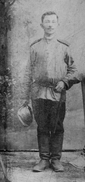 Mój dziadek Adolf Kublicki I wojna