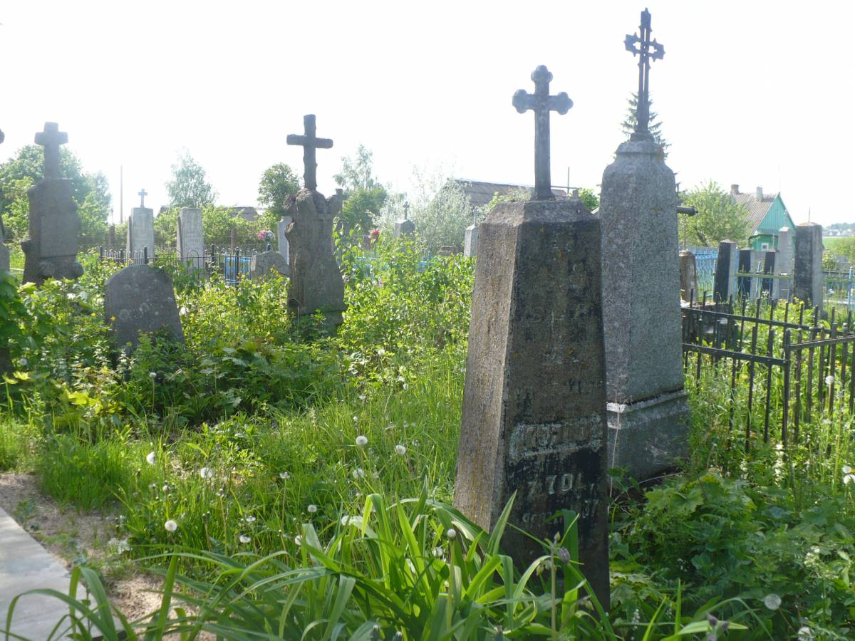 Najstarsza czкњж cmentarza w Uїance