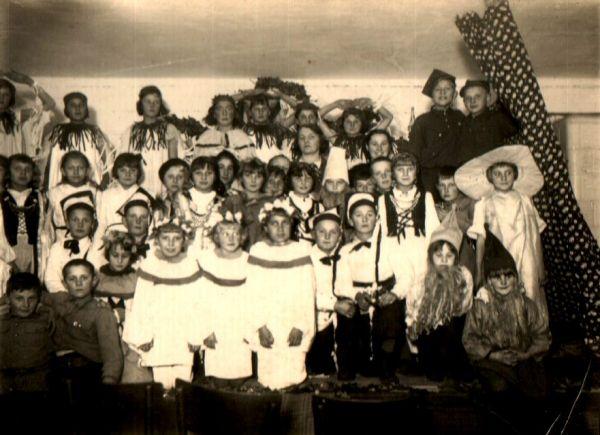 Walówka- Szkoła Powszechna 1938 r.