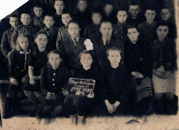 Jedna z uczenic, to Leokadia Ruszlewicz /Pożidajewa? Mieszkała w Magadanie.