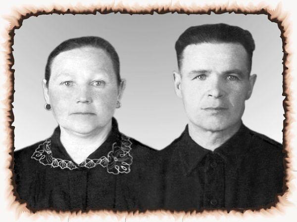 1. Стрибук (Сущенко) Пелагея Кирилловна<br>2. Стрибук Степан Андреевич