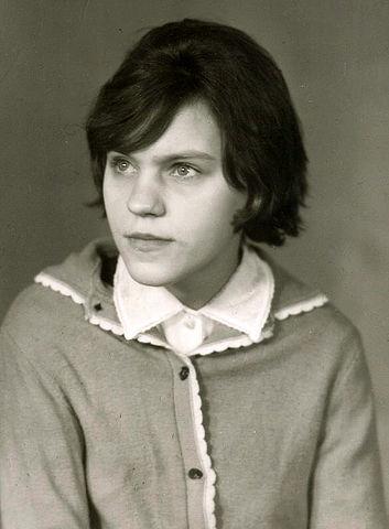 Тимощенко Ева Павловна, 06.10.1956<br>фото от 02.1972 года