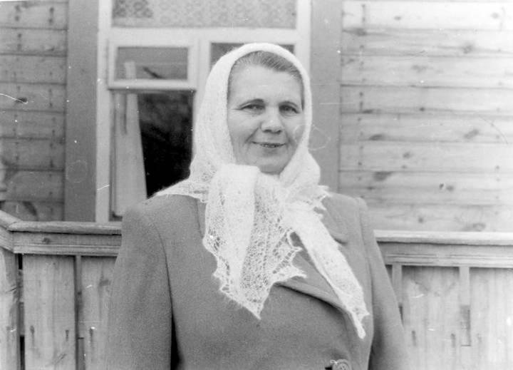 Пузанова (Шубенок) Мария Адамовна 15.05.1920 г.р.