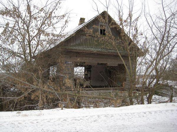 дом семьи Сидоренко Исака Яковлевича<br>фото от 27.12.2010 года