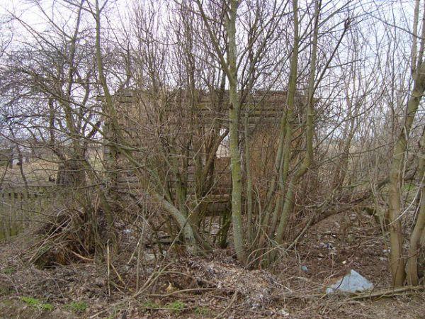 здесь был дом семьи<br>Ермоленко Василия Ивановича