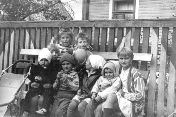 вёска Вулька-Целяханская, сярэдзіна 90-х гадоў ХХ стагоддзя