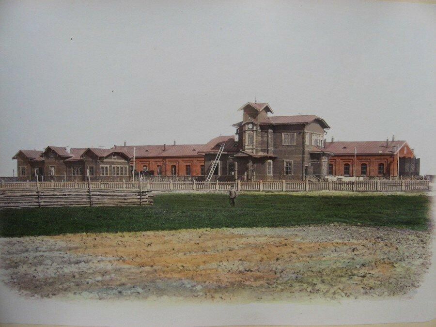Ж/д станция Береза 1880-ые годы.