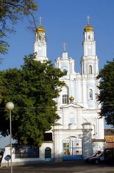2007г. Церковь в центре города.