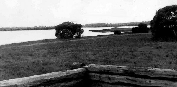 1977г. Сойчино. Вид на Лысую гору.
