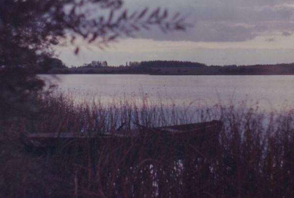 1983г. Сойчино. Утро над озером.